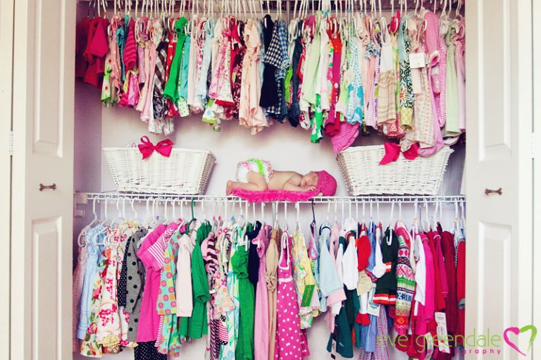 sleeping in this closet is every girls dream!